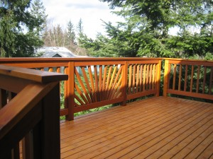 Bellingham deck installation