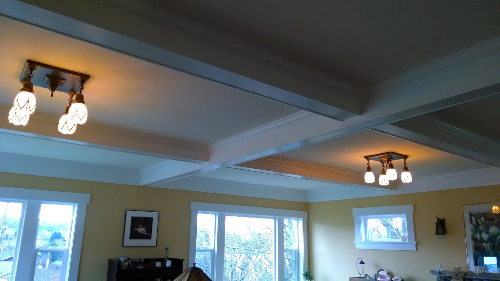 Coffered Ceiling Bellingham